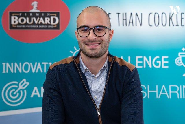 Rencontrez Florian , Contrôleur de Gestion - BISCUITS BOUVARD