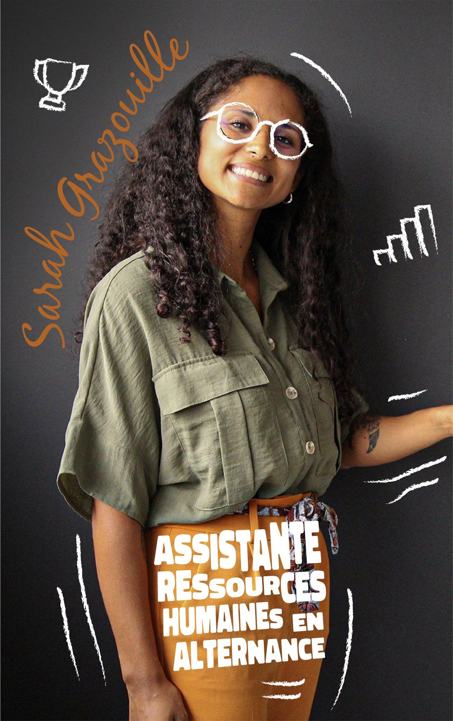 Sarah Grazouille : Assistante ressources humaines en alternance