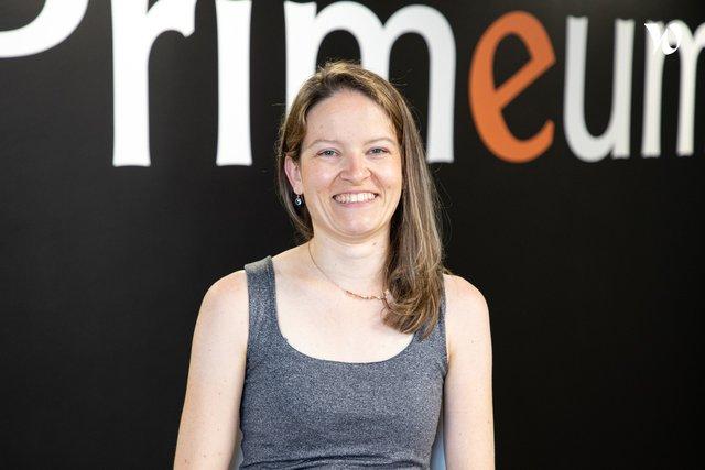 Rencontrez Pauline, Manager Pôle Solutions et Services - Primeum
