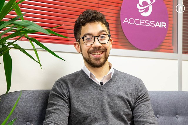 Rencontrez Felipe, Back Office Manager - Accessair