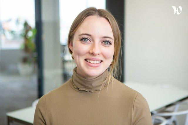 Rencontrez Rachel, Marcom Manager - Newsbridge