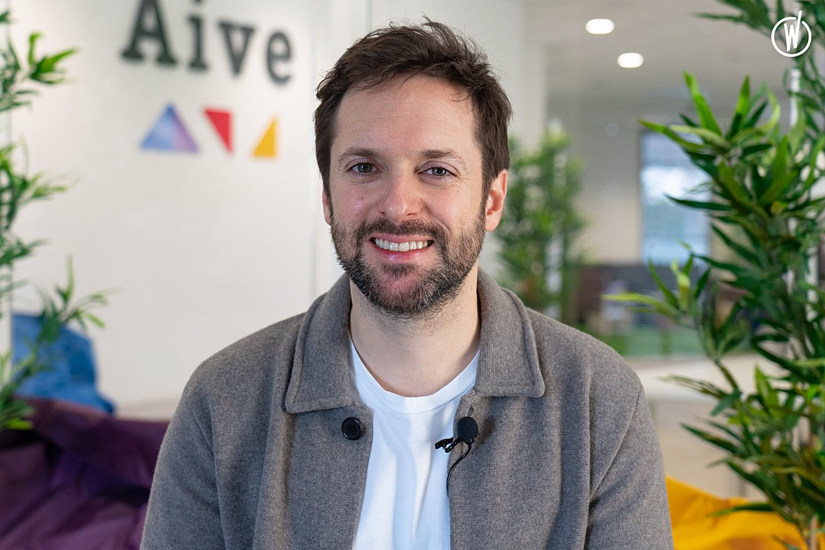 Meet Olivier, Co-founder & CEO - Aive