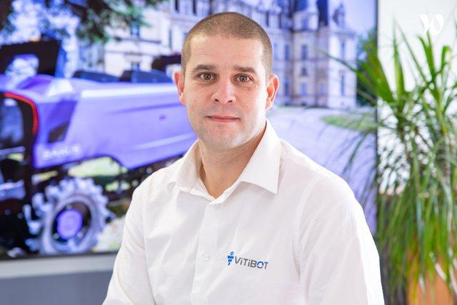 Rencontrez Sébastien, Directeur R&D - Vitibot