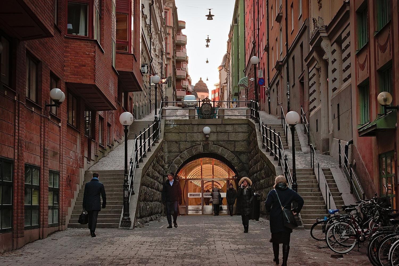 Partir travailler à Stockholm