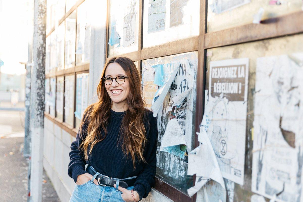 Camille Lextray, communiquante et militante féministe