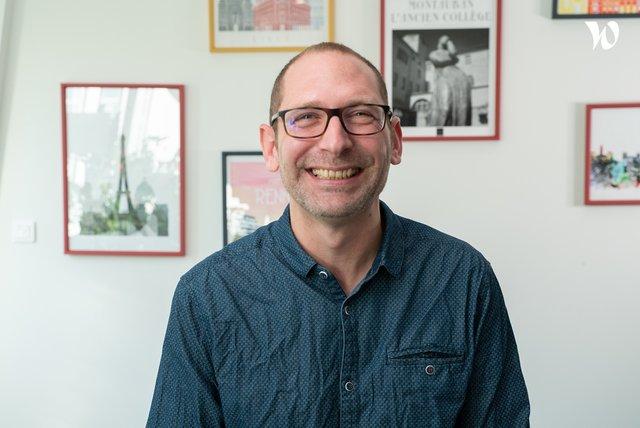 Rencontrez Bertrand, Senior Project Designer - iMSA