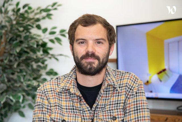 Rencontrez Carl, Manager Pôle Sales & Acquisition - Chez Nestor