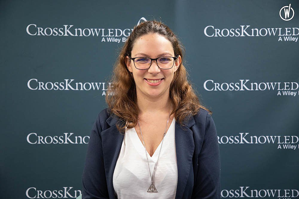 Rencontrez Lauriane, Learning Technology Consultant - CrossKnowledge