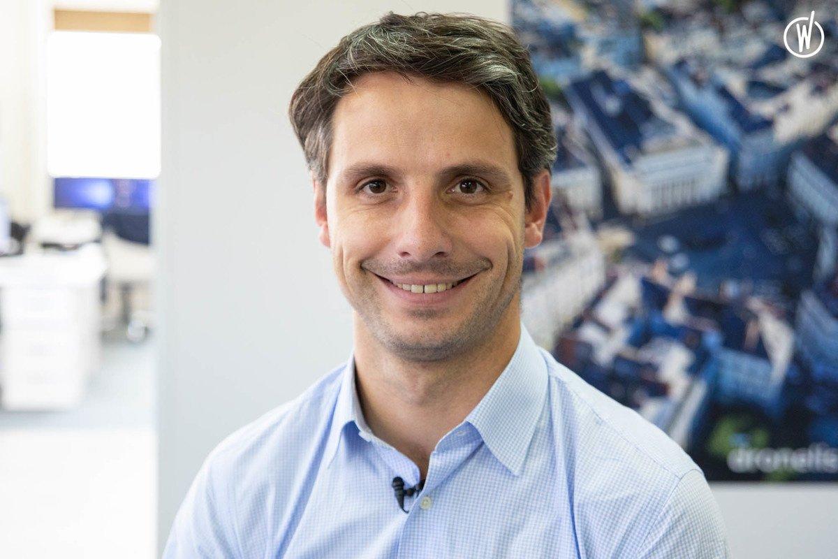 Rencontrez Guillaume, CEO - Dronelis