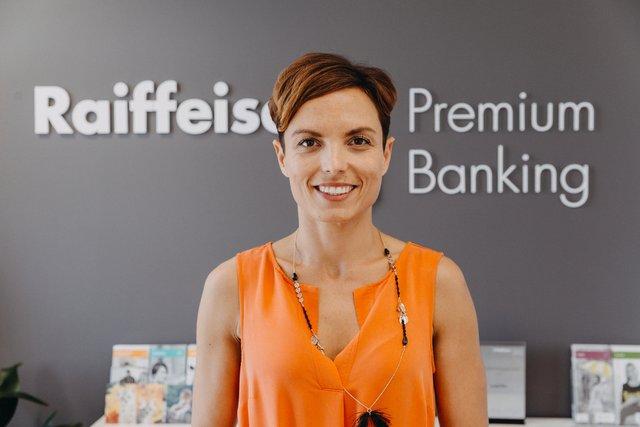 Vendula Kamenická, Ředitelka pobočky - Raiffeisenbank