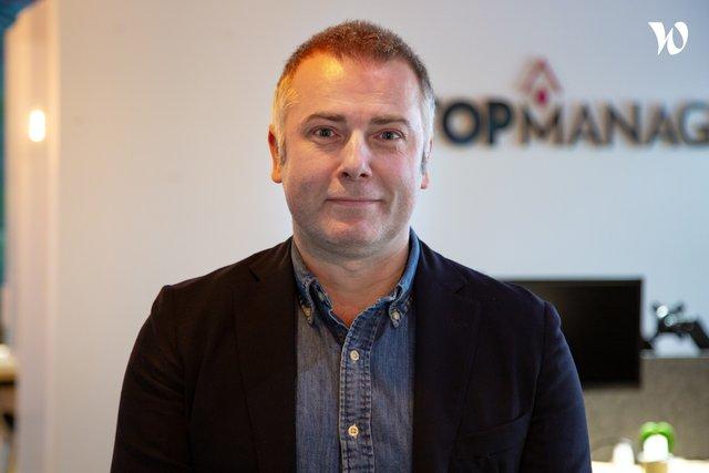 Rencontrez Sébastien, Directeur général - MyTopManager