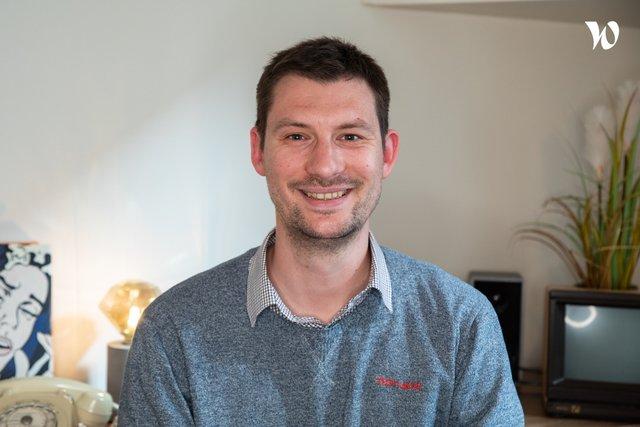 Rencontrez Jean-Baptiste, Head of Visual Programming - Alegria.tech