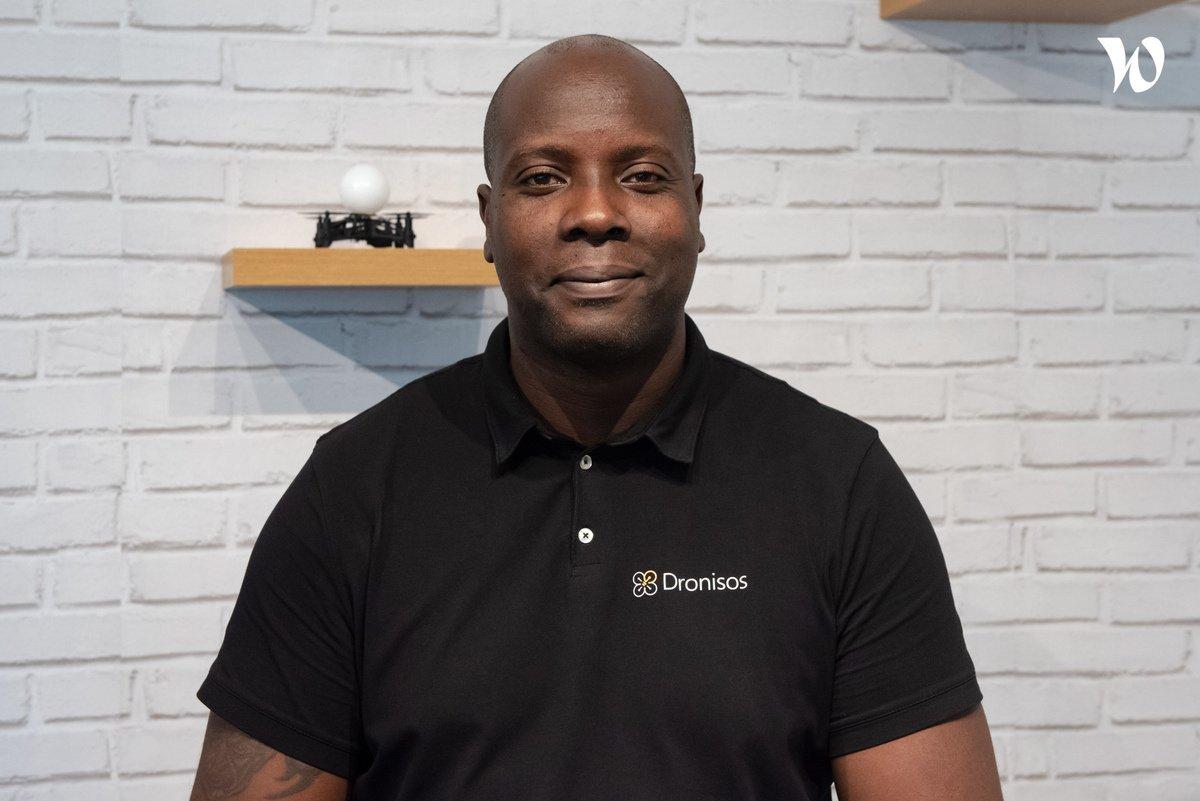 Rencontrez Fabrice, Directeur Commercial - Dronisos