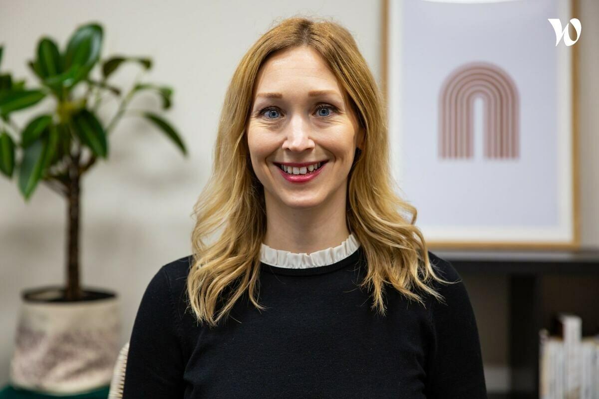 Rencontrez Samantha, Sales Director - Connecting Food