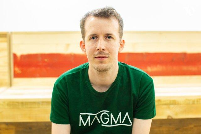 Rencontrez Henri, Lead developer - Magma Technology