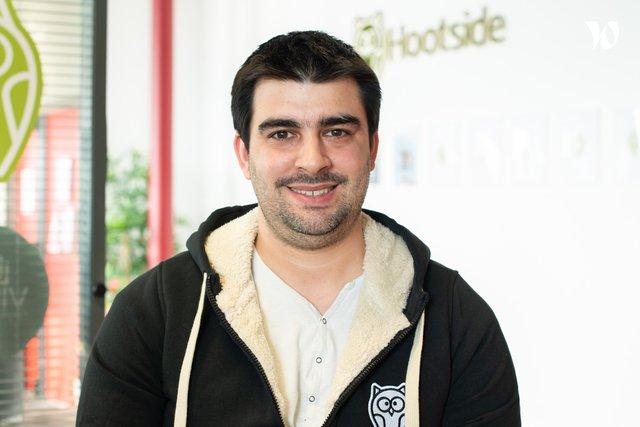 Rencontrez Mickaël, Lead developer mobile - Hootside