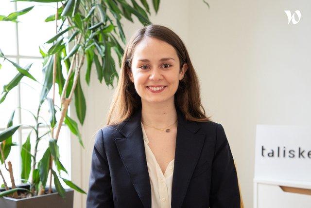 Rencontrez Sophie, Consultante - Talisker