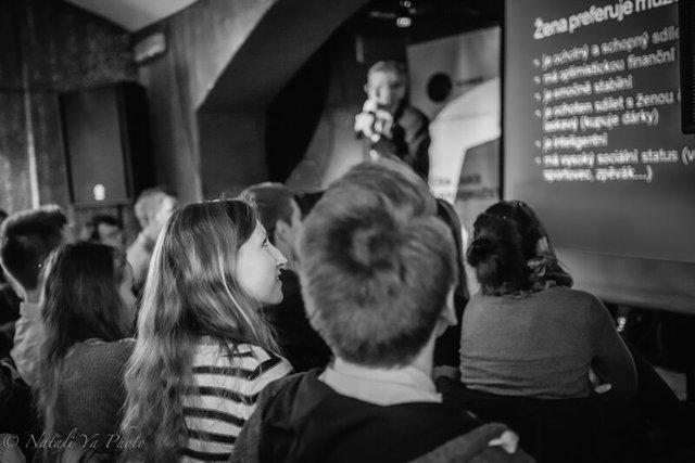 Organizace a nápady - Science Café