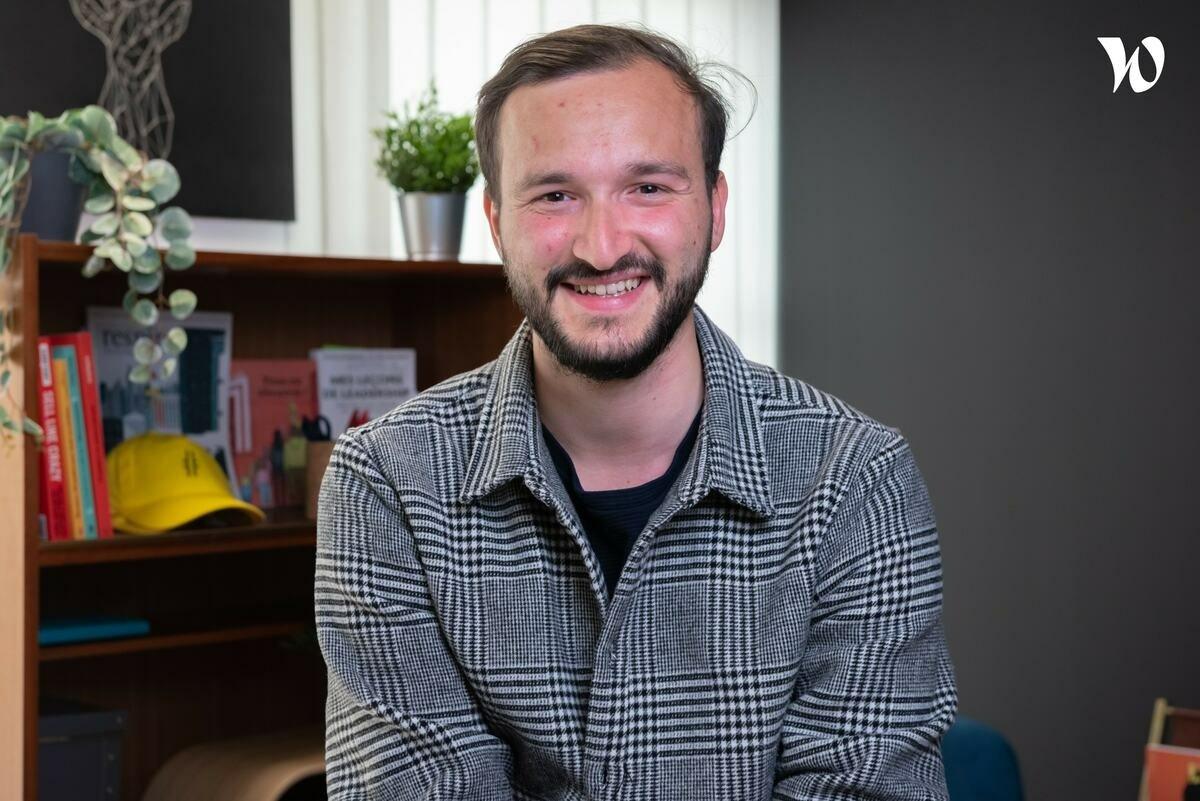 Rencontrez Jérémie, Manager du pôle web - PROGRESSIF MEDIA