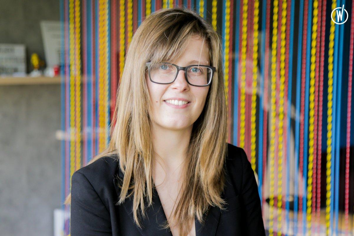 Rencontrez Charline, Développeuse Front-End à Luxembourg - SFEIR