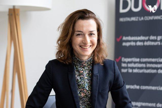 Rencontrez Caroline, Co-Founder - DUONYX