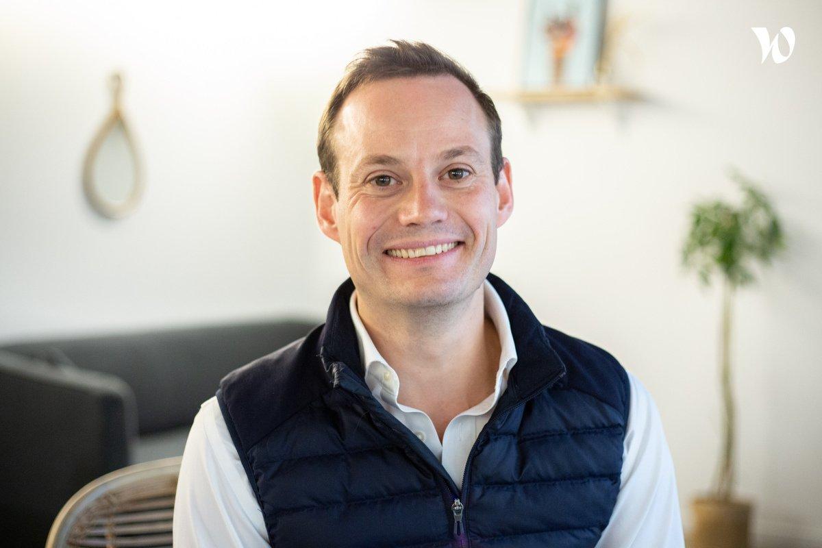 Rencontrez Guérric, Directeur de la stratégie - Hublo