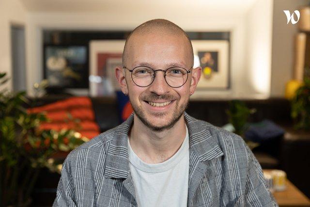 Rencontrez Hans-Paul, Co-fondateur - Studio Volume