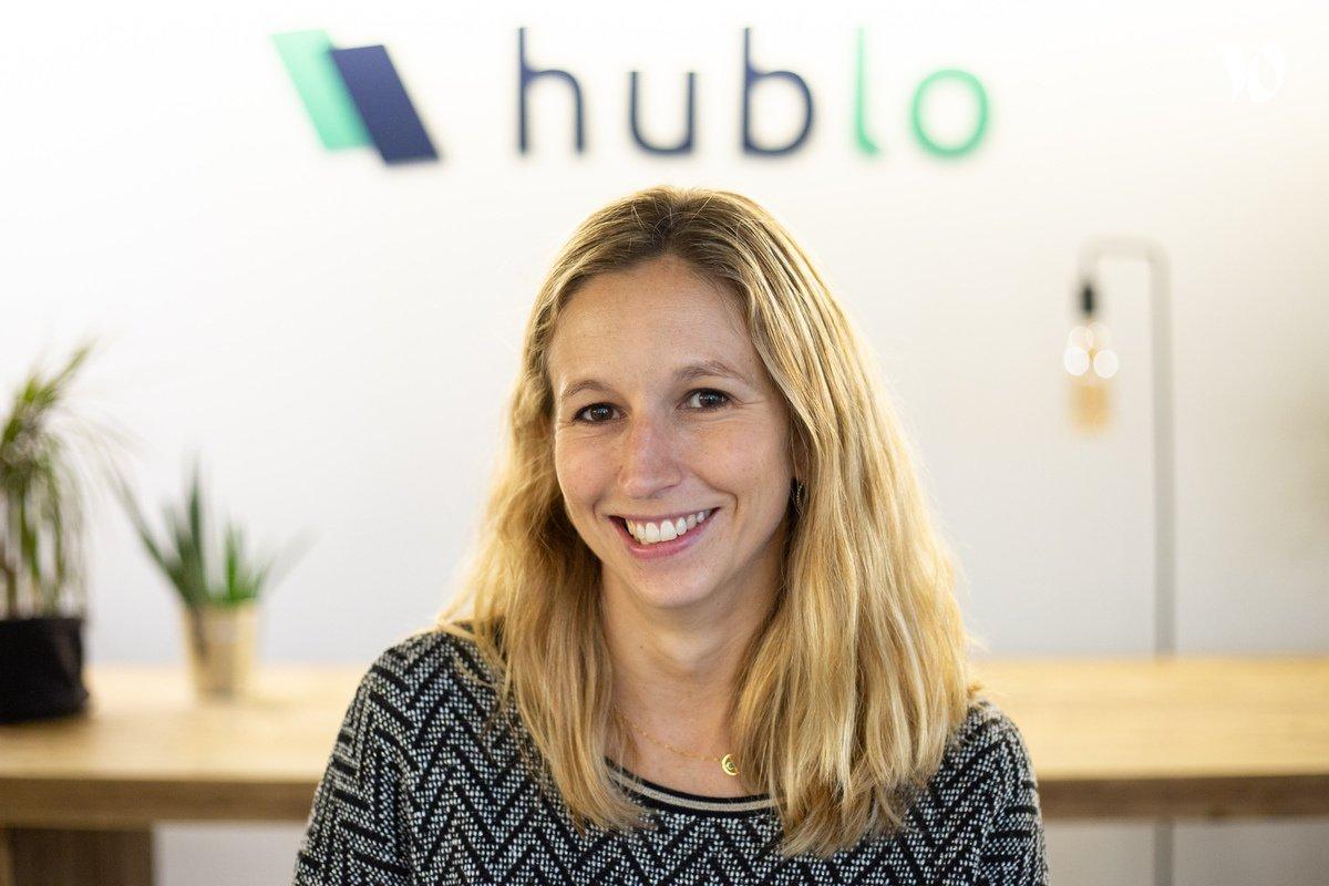Rencontrez Dorothée, Head of Sales - Hublo