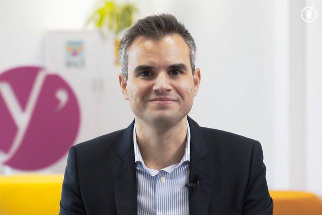 Rencontrez Anthony, Team Leader Pôle Architecture & Expertise Tech - Département des Yvelines