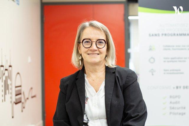 Rencontrez Laurence, Associée - Directrice Marketing et RH - Inagua SAS - éditeur de DAMAaaS