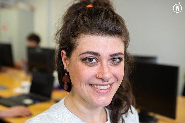 Rencontrez Giulia, Office Manager - Onogone