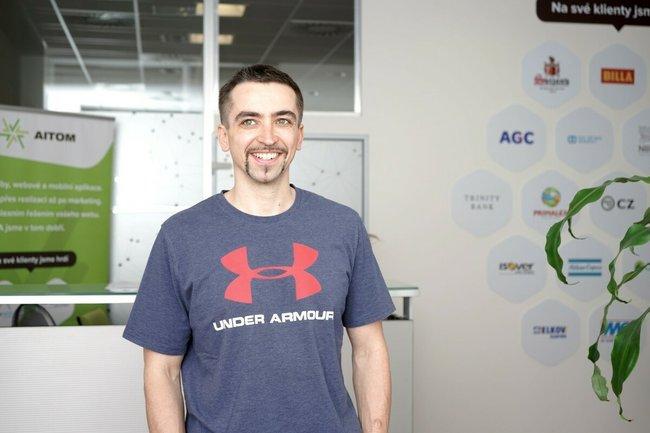 Tomáš Odl, Founder & Head of Web Development - AITOM Digital