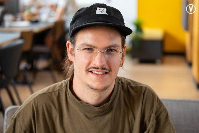 Rencontrez Gaétan, Directeur de Création - Agence 148
