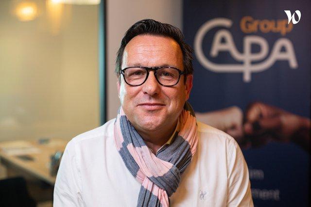 Rencontrez Philippe, Dirigeant associé - CAPA Group