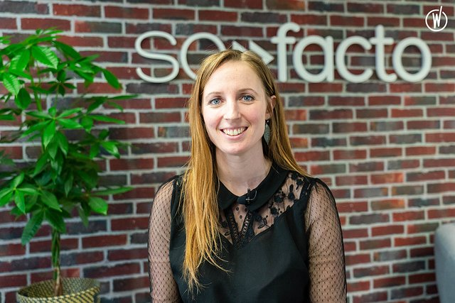 Rencontrez Marie-Theres , Knowledge Manager  - SOFACTO