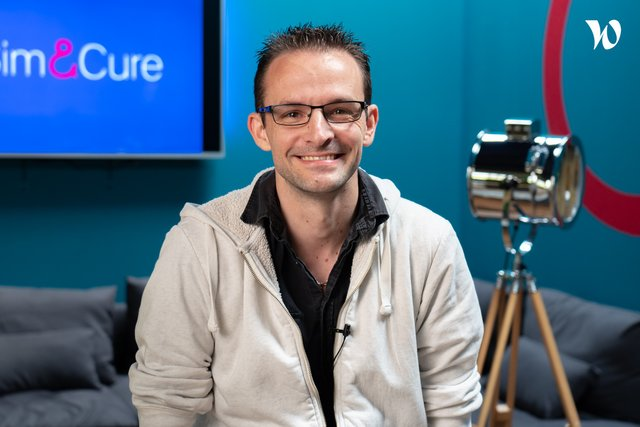 Rencontrez Johan, Software Manager - Sim&Cure