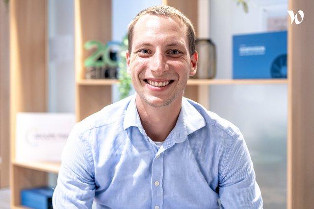 Rencontrez Pierre , Ingénieur BI - Groupe PSIH