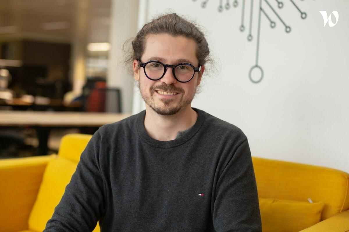 Rencontrez Clément, Lead Developer Frontend - Unifai