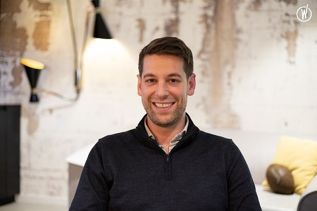 Rencontrez Martin, Manager Data Management - Saegus