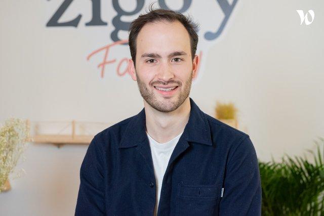 Rencontrez Alyosha, Cofondateur - Ziggy