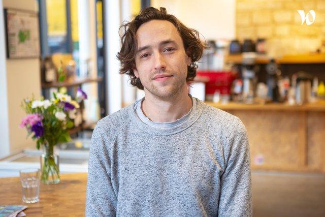 Rencontrez Jacob, Barista & e-boutique - The Beans On Fire
