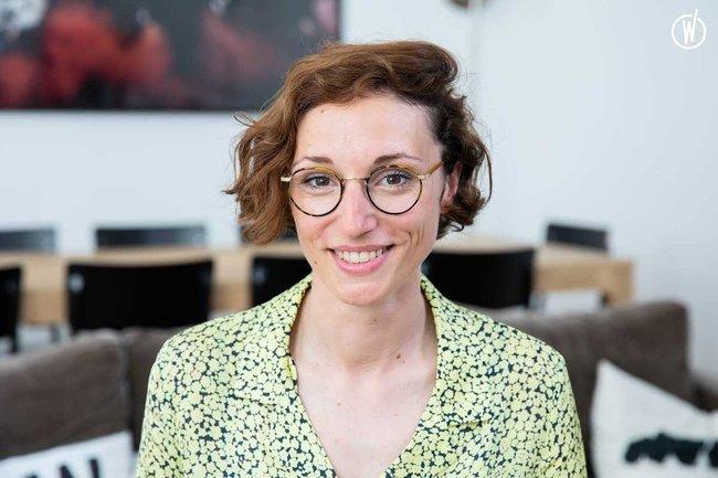 Rencontrez Julie Dussarat, Chef de Groupe - WILLIE BEAMEN