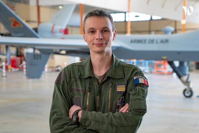 Rencontrez Commandant Benjamin, Pilote de drone - armée de l'Air et de l'Espace