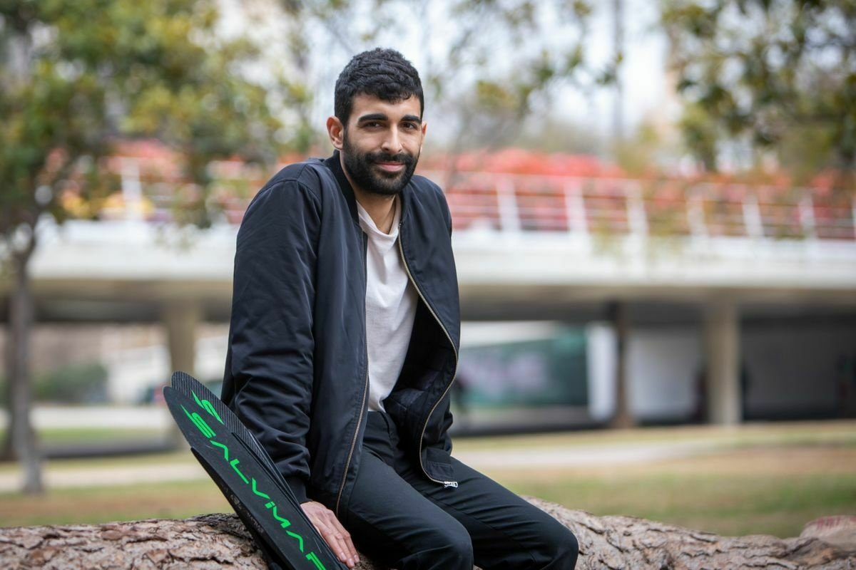 Rubén Aparisi, de campeón de apnea a 'coach' contra el estrés