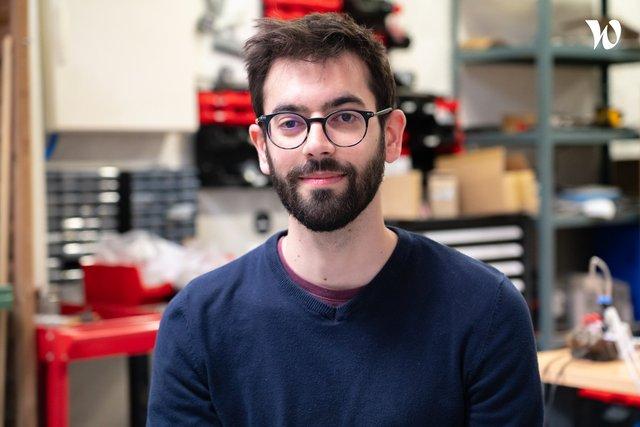 Rencontrez Ugo, Ingénieur mécatronique - Cala