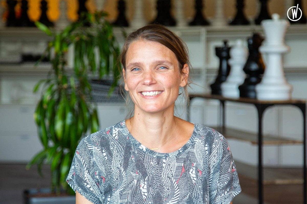 Rencontrez Perrine, Responsable Ressources Humaines - Elan