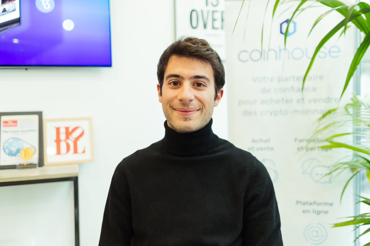 Rencontrez Benjamin, Product Marketing Manager - Coinhouse
