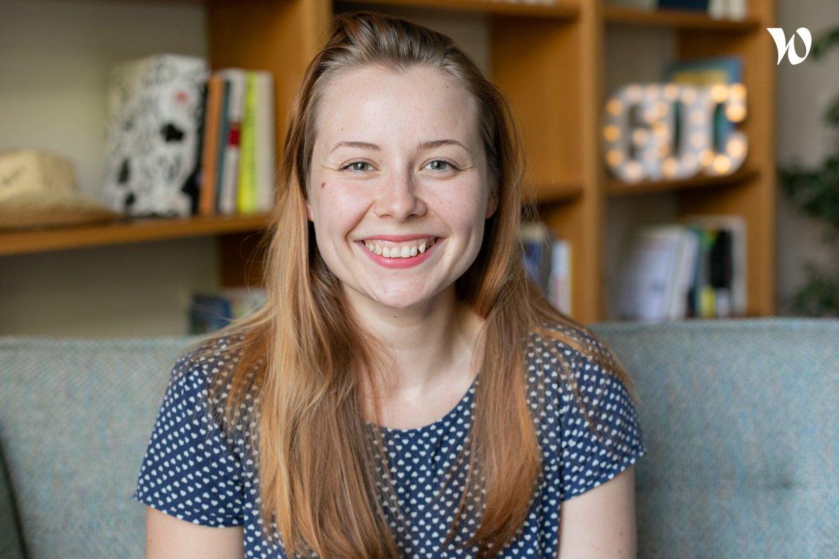Rencontrez Anna, Développeuse Web Front End - Gens de Confiance