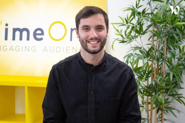 Rencontrez Victor, Directeur Associé Média - TimeOne