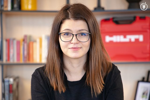 Meet Mélania, UI/UX Designer - Hilti Digital Marketing Services